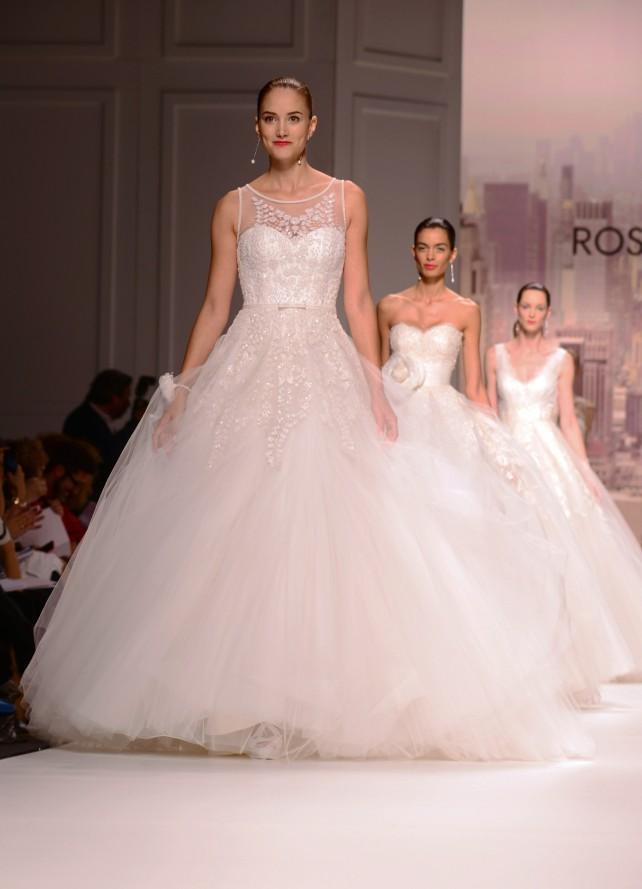 Barcelona Brida Week: Vestidos de novia 2015