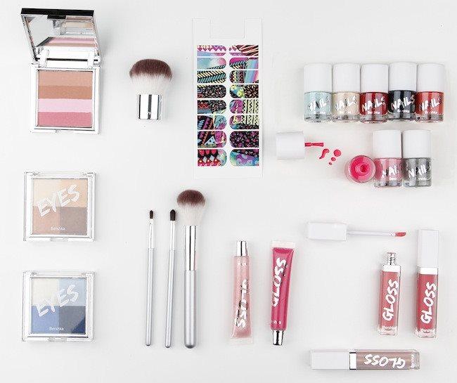 Beauty Bershka línea de maquillaje low cost