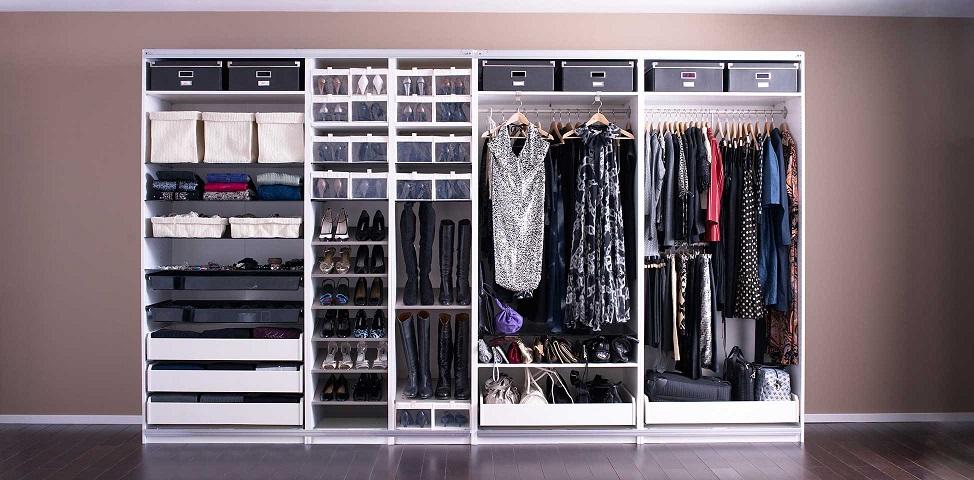 C mo optimizar el espacio en tu armario - Como forrar un armario por dentro ...