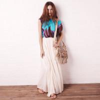 La moda del verano de la falda larga