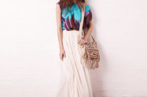 La falda larga, el estilo que se lleva este verano