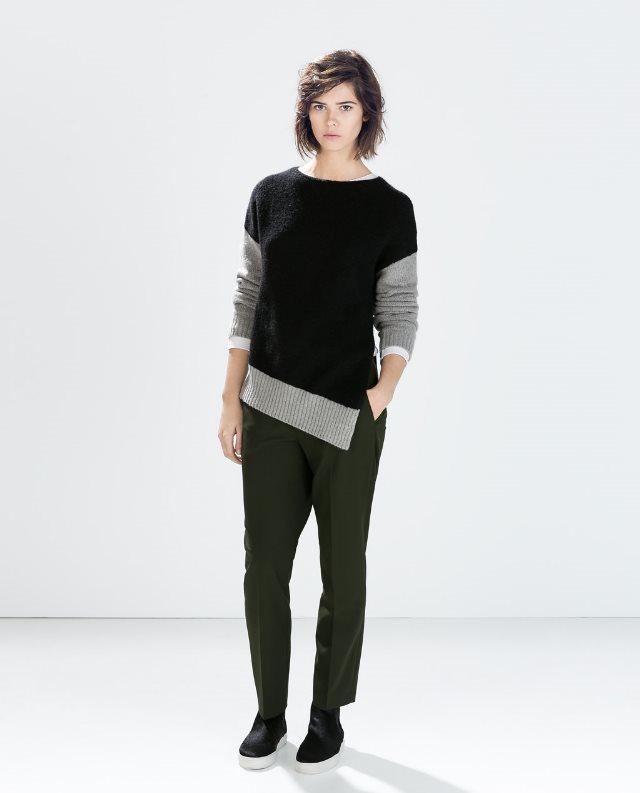 look informal jersey y pantalón
