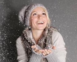 Mujer en invierno