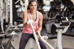 Entrenamiento de CrossFit para mujeres