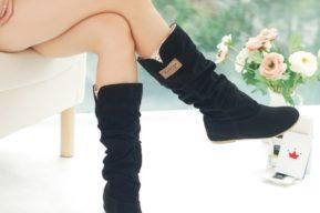 La elección de las botas en función de las formas de la mujer