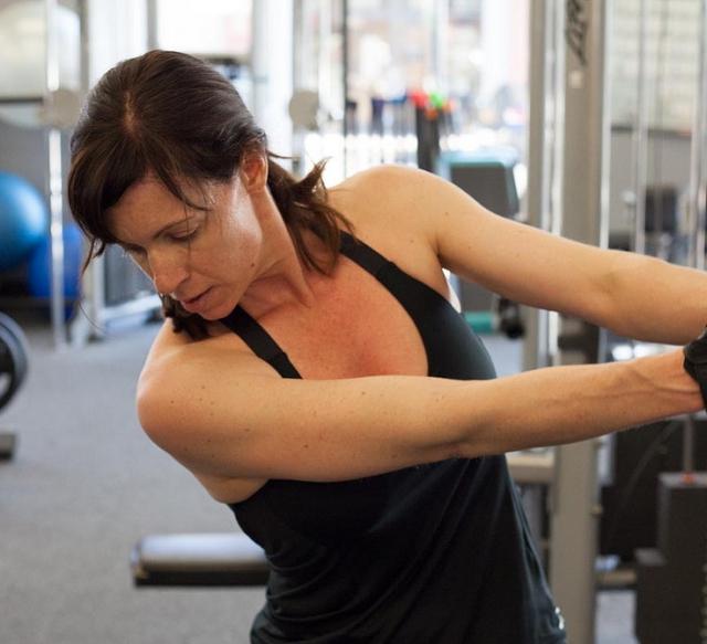 Musculación mujer