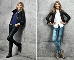 Mujeres con ropa de moda