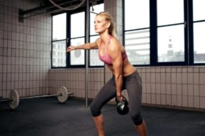 Mejora tu físico entrenando con kettlebell