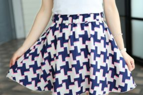 En verano, conviene decantarse por la originalidad en las faldas