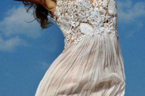 Consejos para llevar un vestido blanco de encaje
