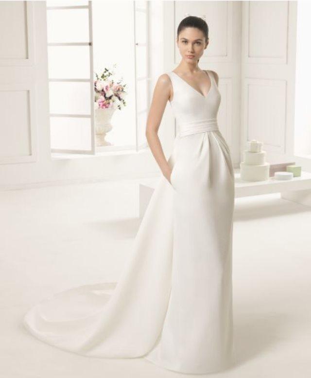La tendencia minimalista llega a las novias
