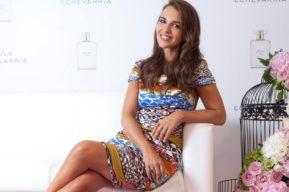 Paula Echevarría presenta su nuevo perfume