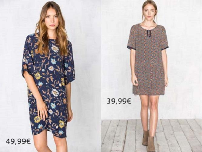 Catálogo de vestidos Cortefiel otoño invierno