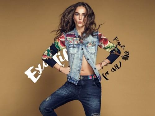 """Desigual y su colección """"Exotic Jeans""""1"""