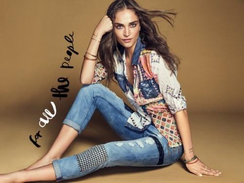 """Desigual y su colección """"Exotic Jeans""""2"""