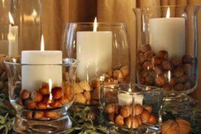 Ideas con velas para decorar tu casa en Navidad