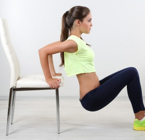 Silla para ejercicios