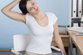 Ejercicios de gimnasia que se pueden practicar en la oficina