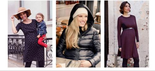 Antojos Premamá, catálogo de moda online