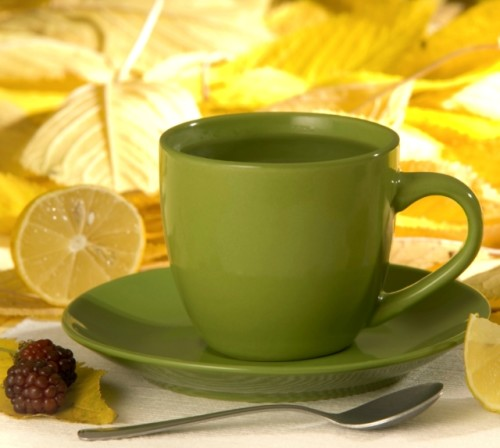 Taza agua limón