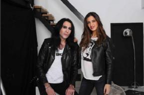 Sara Carbonero entrevista a Mario Vaquerizo en la revista Elle
