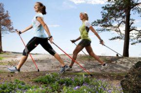 La marcha nórdica como una actividad física aconsejada para mantener la salud