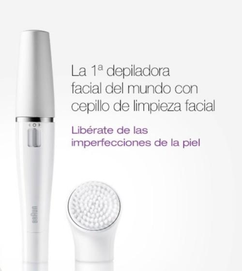 Nueva Braun Face, elimina el vello facial y limpia tu rostro