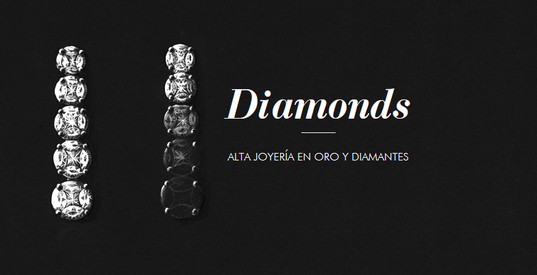 Diamonds, alta joyería en oro y diamantes de Aristocrazy