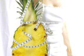 Perder peso gracias a la dieta de la piña