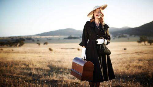 Looks de Kate Winslet en La Modista