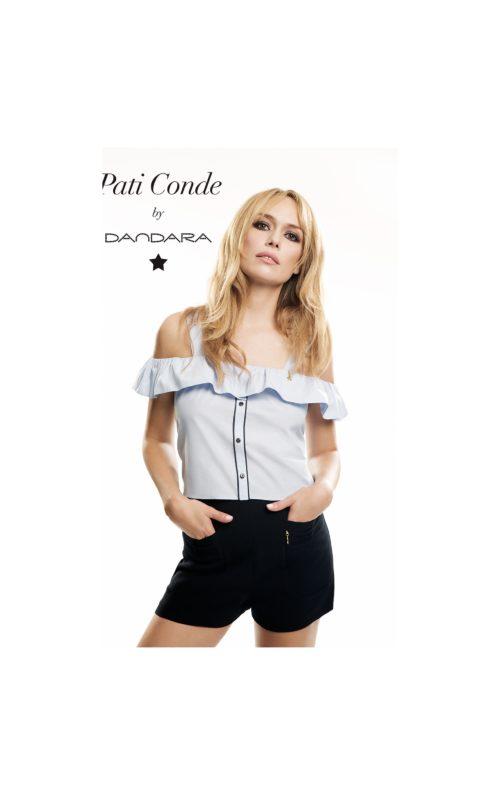 Paula Echevarría luce un look de Pati Conde by Dandara