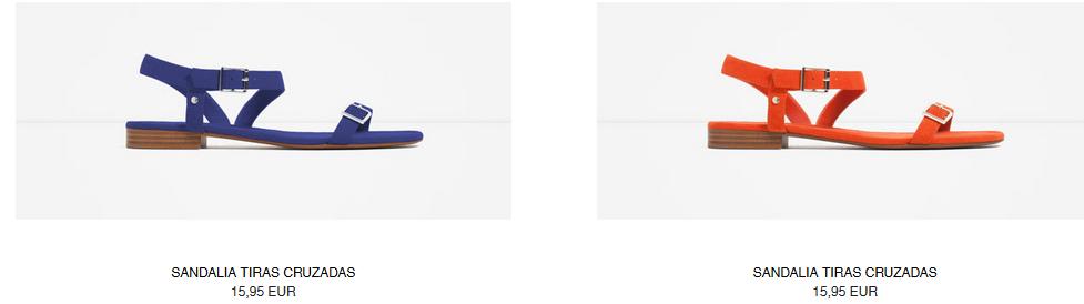 61f198049b4 Zara, sandalias planas para esta temporada | EFE Blog