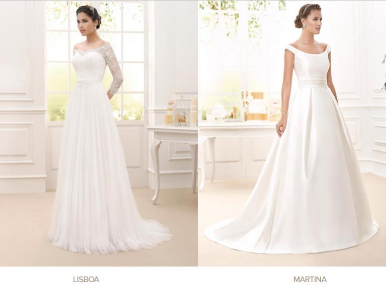 Novia d´Art, catálogo de vestidos de novia
