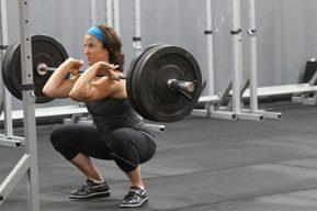 La práctica del squat de barra