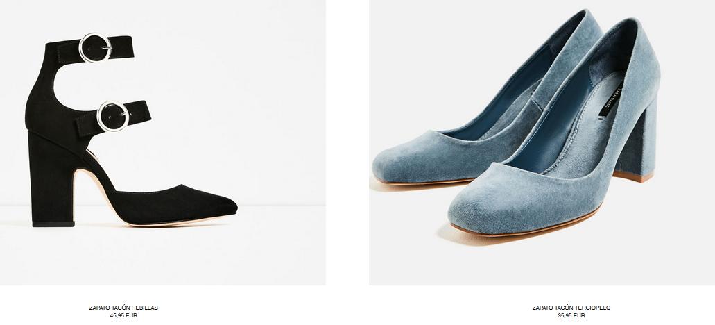 Catálogo de zapatos Zara otoño invierno 2016-2017