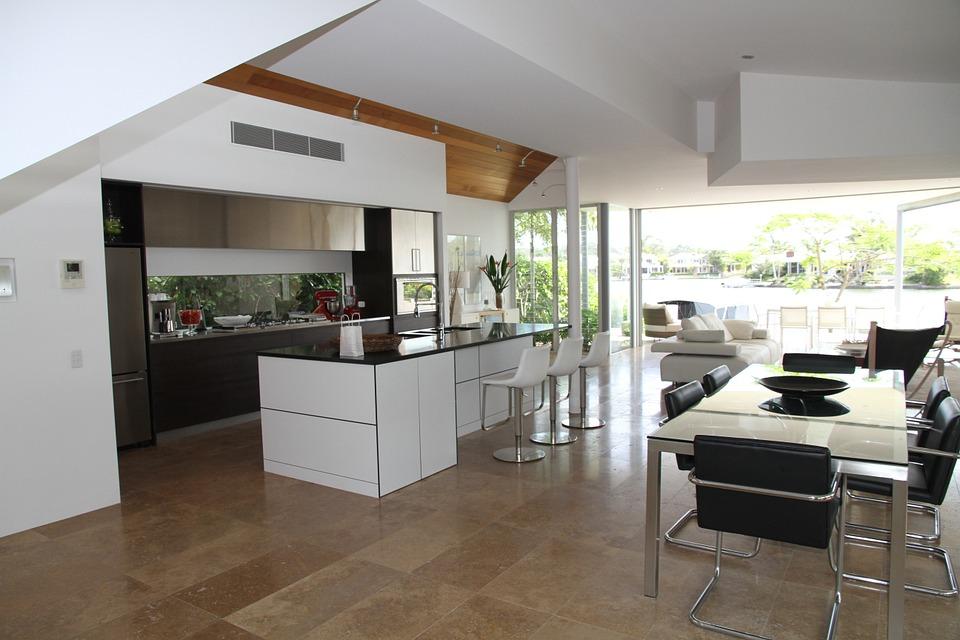 Ventajas e inconvenientes de la cocina abierta al sal n for Unir cocina y salon