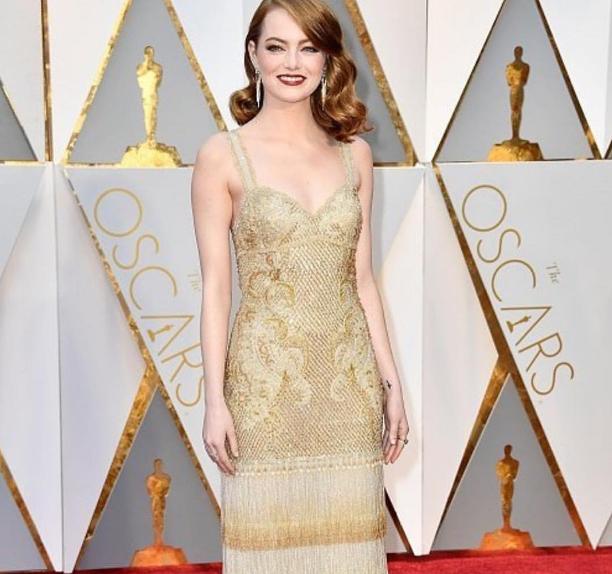 Look de Emma Stone en los Oscar