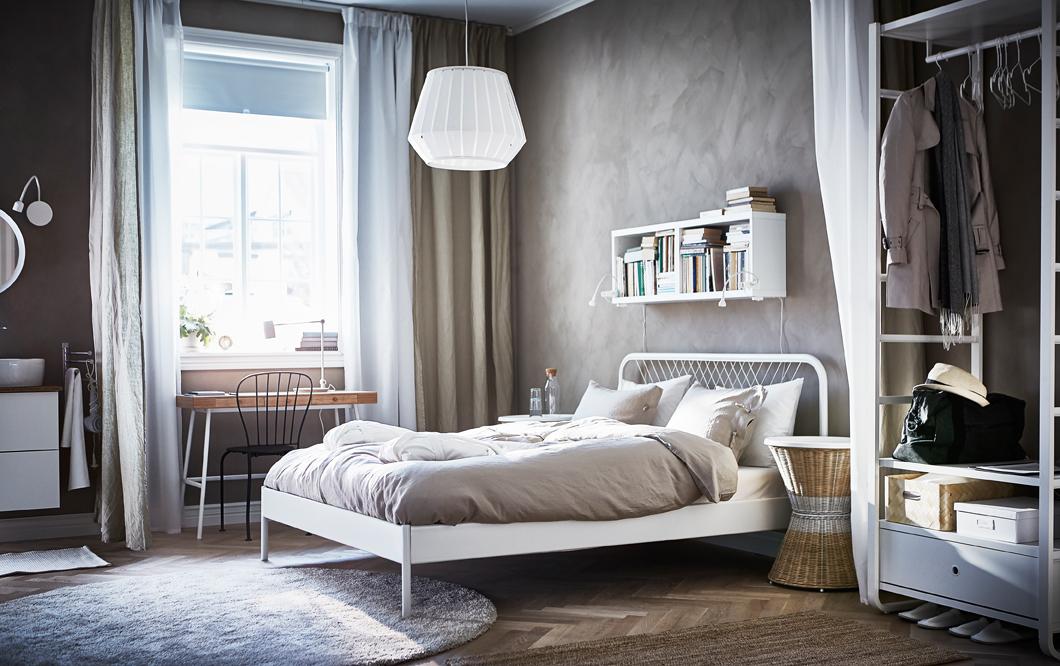 Cat logo de dormitorios ikea para un descanso feliz efe blog for Dormitorio estilo nordico ikea
