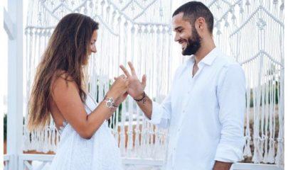 Malena Costa y Mario Suárez se casan