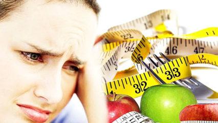 Adelgazar, los errores más comunes al hacer la dieta