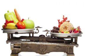 Balancear las calorías en la dieta para adelgazar