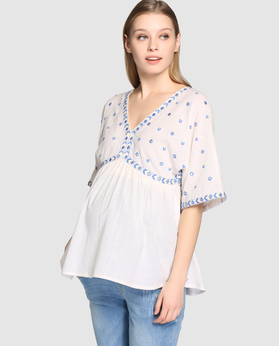 Blusa blanca Alía