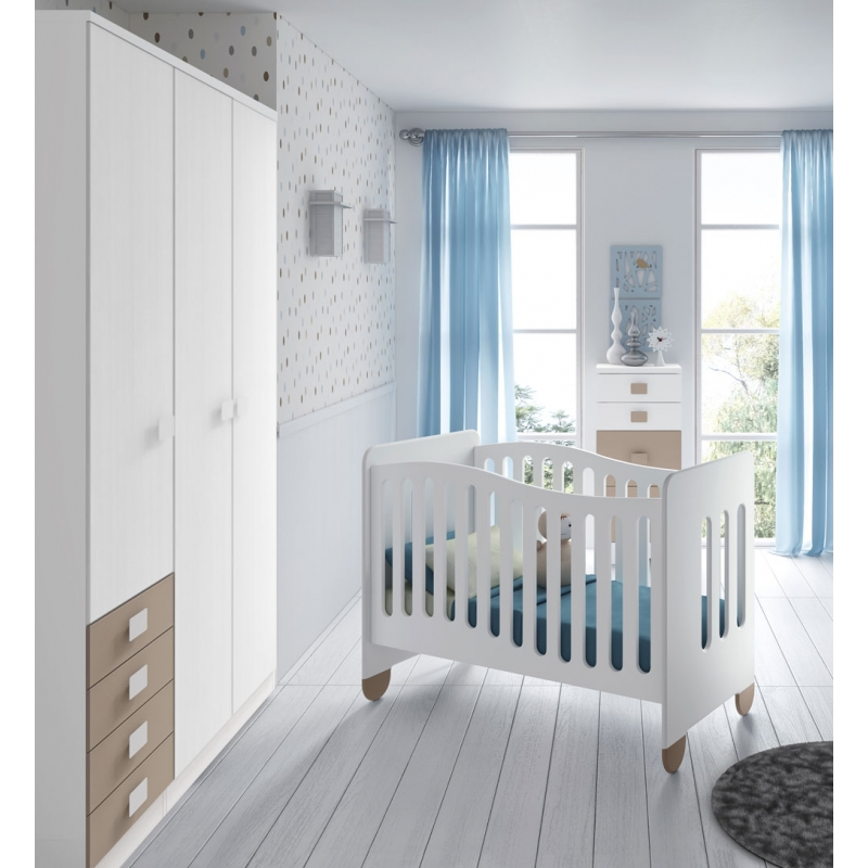 Catálogo Muebles Shiade de dormitorios para bebés
