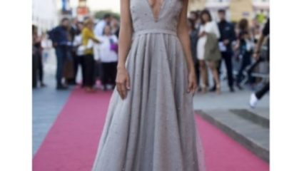 Macarena García en el Festival de Cine de San Sebastián