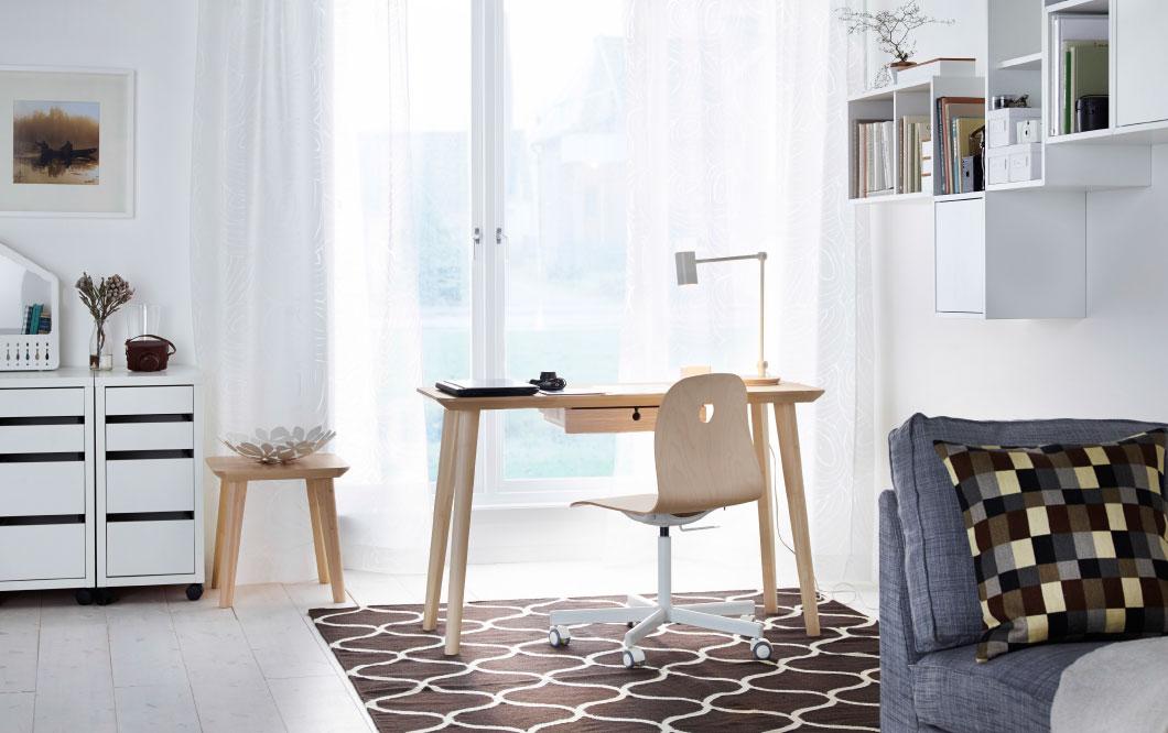 Cat logo ikea de decoraci n de oficinas para el hogar efe blog - Decorar despacho profesional ...