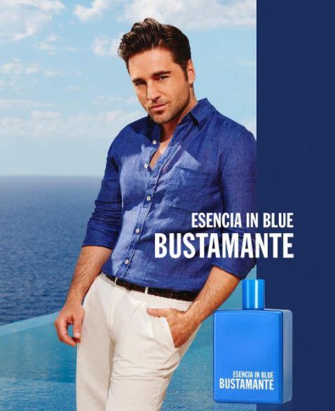 Esencia in blue de David Bustamante