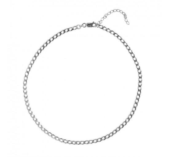 Collar Chain Plata