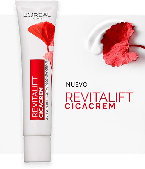 Crema de día Revitalift Cicacrem de L'Oréal Paris