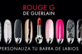 Rouge G de Guerlain, personaliza tu barra de labios