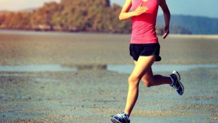 Mujer corriendo